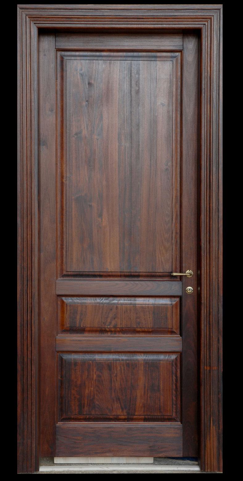 Porta mod. 903: in legno massello di castagno invecchiato by cmb ...