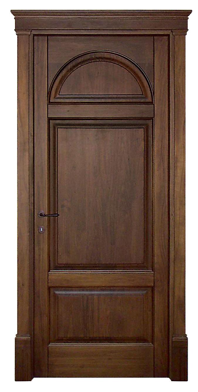 Porta mod 916 in legno massello di noce nazionale by cmb international srl - Porta in legno massello ...