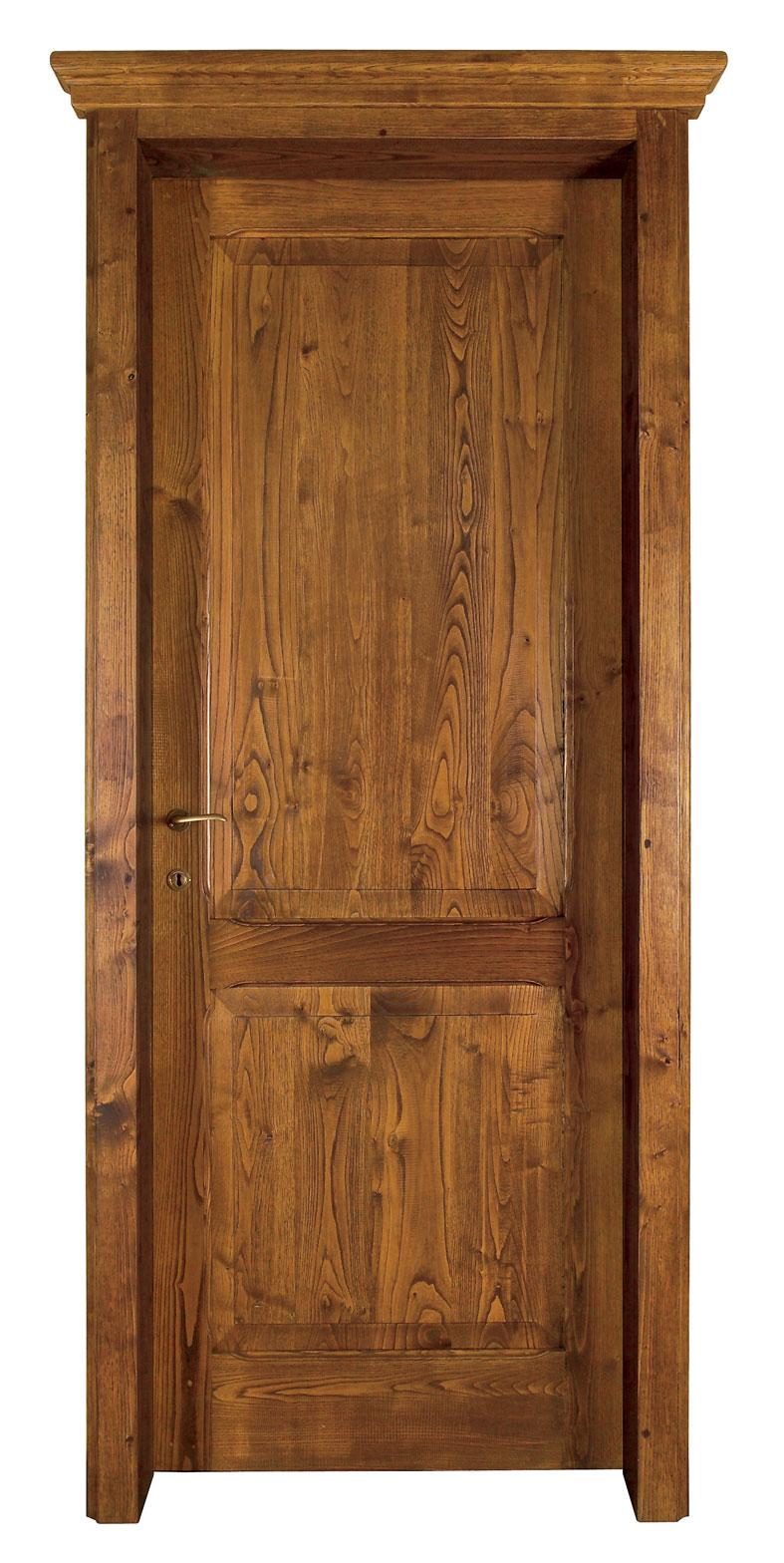 Cmb international srl infissi in legno massello di castagno porta 953 wood - Porta in legno massello ...