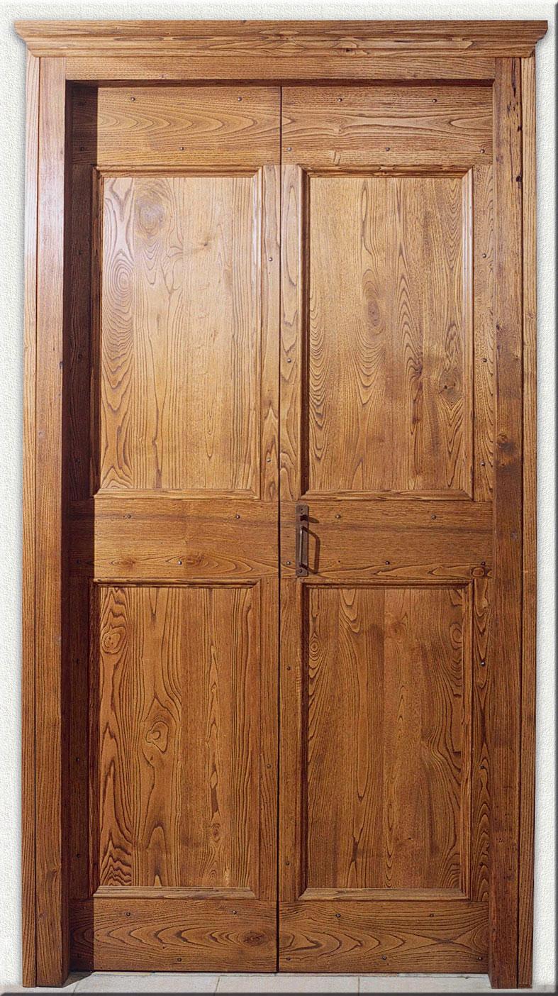 Cmb international srl porta mod 803 in stile xvi xix in legno massello - Porta in legno massello ...