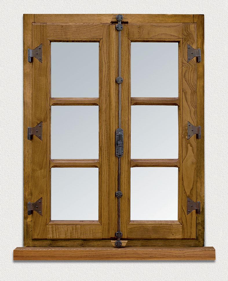 Finestra in legno cmb infissi modello restyle - Ferramenta per chiusura finestre ...