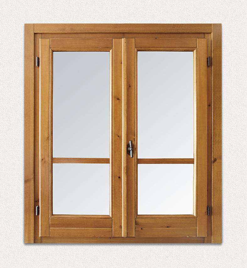 Cmb infissi finestra in legno massello modello storica - Cerniere per finestre ...