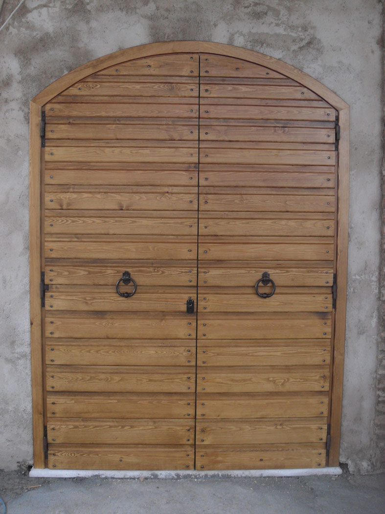 Top in legno massello di Castagno invecchiato spazzolato, completo di  TR34