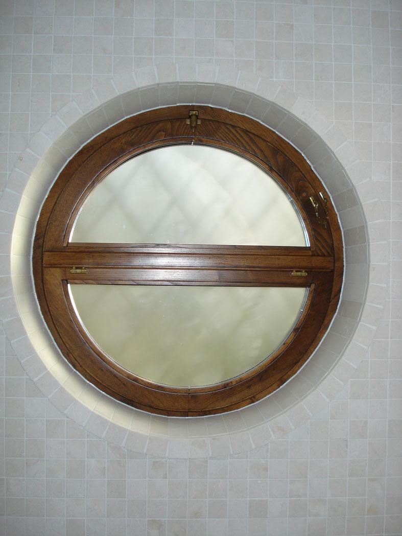 Produzione cmb infissi di serramenti a forma di arco ed obl for Cerniere leroy merlin
