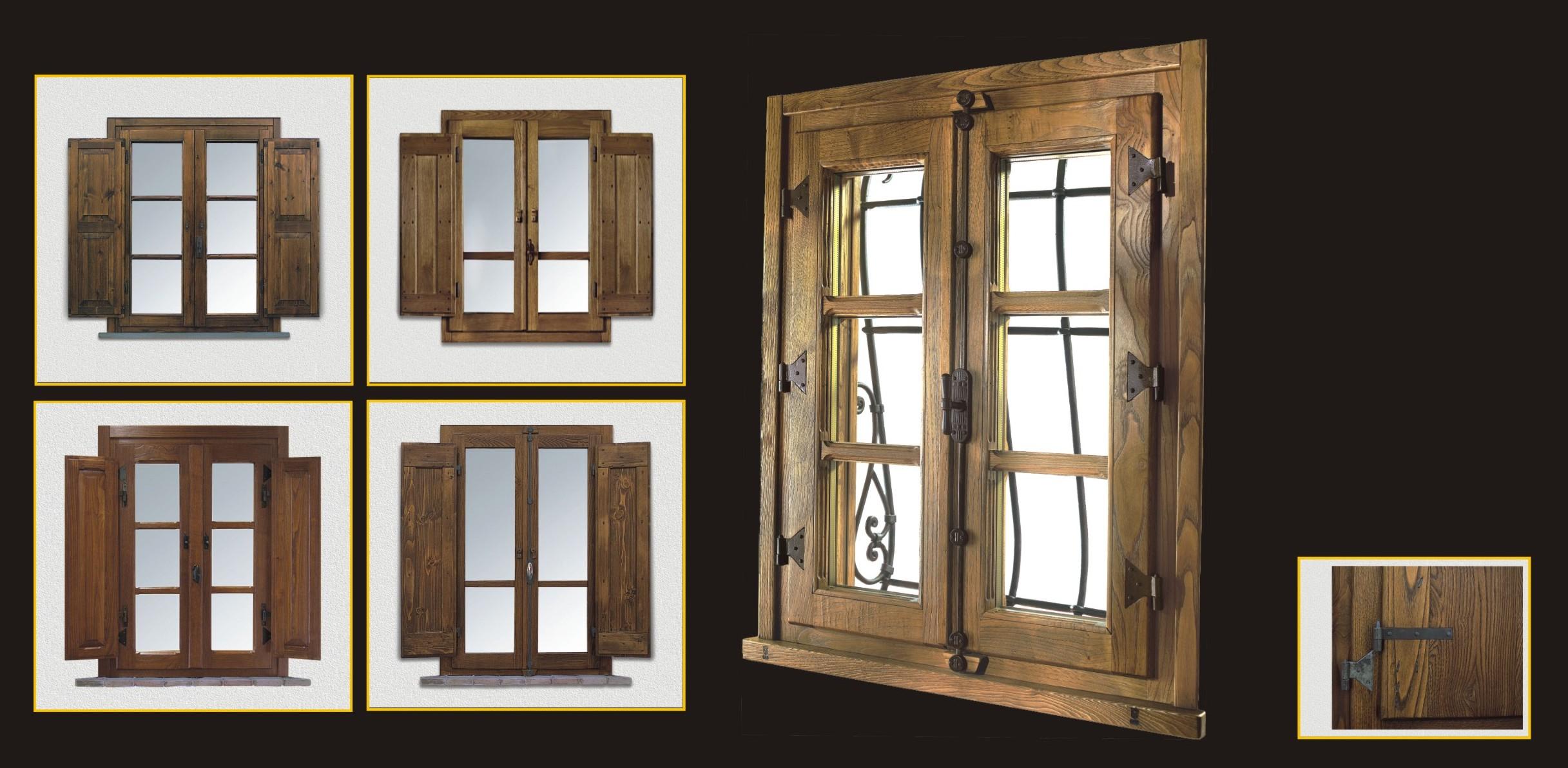 Cmb serramenti infissi porte finestre legno massello - Porte finestre legno ...